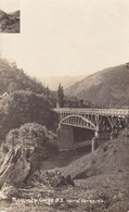 Manawatu Gorge Bridge New Zealand Real Photo Postcard - Nouvelle-Zélande