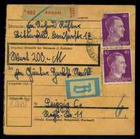 Paketkarte 1942 BITTERFELD Siehe Beschreibung (114689) - Deutschland