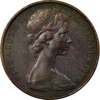 Monnaie, Australie, Elizabeth II, 2 Cents, 1966, Melbourne, TB+, Bronze, KM:63 - Victoria
