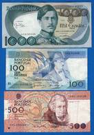 Portugal  3  Billets - Portugal