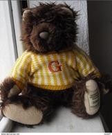 A.  Immédiat SUPERBE OURS  GIORGIO B. HILLS  ANNIVERSAIRE  OU NAISSANCES   2004 - Perfumed Bears