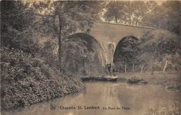 Lasne CHAPELLE SAINT LAMBERT Pont Du Tram Sur La Lasne Barque Animée Enfants - Brug Tramway - Lasne