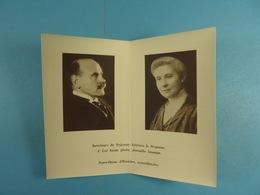 Comtesse Carton De Wiart (1951) Et Henry Comte Carton De Wiart (1955) - Devotion Images