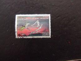 EUROPA 1995 BOSNIA ERZEGOVINA 200 D USATO - Europa-CEPT