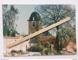 GENAPPE- BOUSVAL«PANORAMA,L'ÉGLISE «Panorama,couleur(Édit Perfect Print ) Photo Véritable. - Genappe