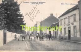 CPA JODOIGNE AVENUE DE LA STATION  ROUTE DE JAUCHE CAFE DE LA BONNE FEMME - Jodoigne