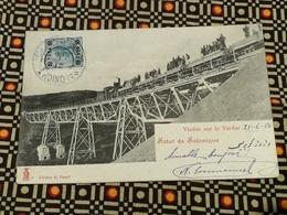 CPA GRECE GREECE - SALUT De SALONIQUE - Viaduc Sur Le Vardar - éditeur H. Vassif - Grèce