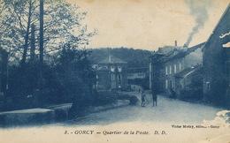 Gorcy Quartier De La Poste Victor Moitry  Defauts Surface A Droite - France