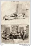 Belgique - L´anarchiste Métayer Exposé à L´hôpital Saint-Jean à Bruxelles - Page Original -  1883 - Historical Documents