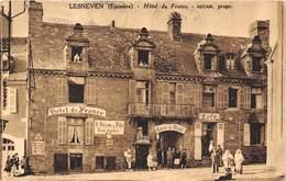 29-LENESVEN- HÔTEL DE FRANCE - BECAM PROPRI - Lesneven