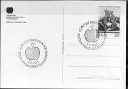 PIA  -  ITALIA  -  9.2.1993 : Cartolina Illustrata  Emessa A Rimini (Fo) - Alimentazione