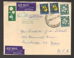 8623- New Zealand,  Cover To USA - New Zealand