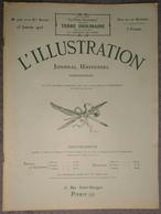 L'Illustration 4167 13 Janvier 1923 L'occupation De La Ruhr/Tunnel Des Batignolles/Lucien Guitry/Niagara/Howard Carter - Journaux - Quotidiens