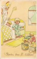 Sint - Niklaas : Groeten Van St. Niklaas / Speelgoed.( Sint - Nicolaas ) 1948 - Jeux Et Jouets
