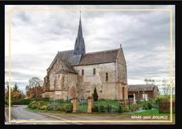 08  MARS  Sous  BOURCQ  .... L' église - France