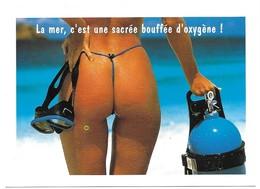 La Mer, C' Est Une Sacrée Bouffée D' Oxygène ! Photo Witness Stock - Sygma Editions Agep - Nus Adultes (< 1960)