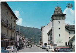 Vall D'Aran. Les: AUSTIN MINI, SEAT 600, FIAT 850, CITROËN AMI - Carrer De Sant Jaume. L'Aduana - Douane (Espana/Spain) - Voitures De Tourisme