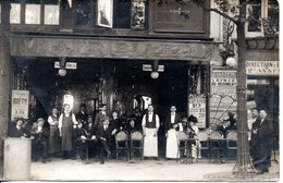 CARTE PHOTO - CAFE BIARD  ( A Localiser ) - Photographie