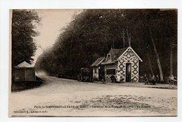 - CPA SAINT-GERMAIN-EN-LAYE (78) - Carrefour De La Croix De Noailles - La Buvette (avec Personnages) - Collection J. L. - St. Germain En Laye