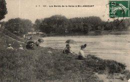 LE BORDS DE LA SEINE A BILLANCOURT - Boulogne Billancourt