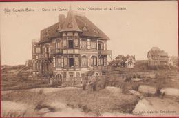 Koksijde Coxyde Bains Villa Dans Les Dunes Villas In De Duinen Simonne Et La Tourelle (In Zeer Goede Staat) - Koksijde