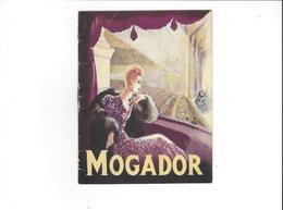 PROGRAMMES THEATRE MOGADOR  LA VEUVE JOYEUSE    ****   A   SAISIR  ****** - Programma's