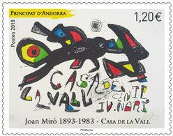 Andorra / Andorre - Postfris / MNH - Joan Miro 2018 - Frans-Andorra