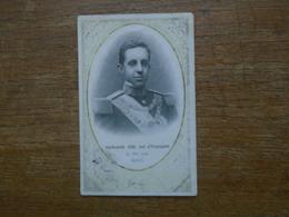 """Carte Assez Rare De 1905 , Alphonsè XIII , Roi D'espagne ( 29 Mai 1905 Paris ) """""""" Portrait Pris à Paris En 1905 """""""" - Andere"""