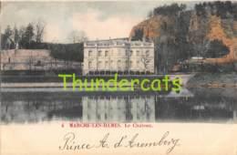CPA  MARCHE LES DAMES LE CHATEAU  ( CARTE COLORISEE ) - Namur