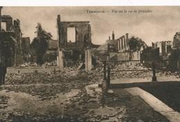 CPA - Belgique - Dendermonde - Termonde - Vue Sur La Rue De Bruxelles - Dendermonde
