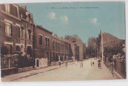 Flers-lez-Lille - Rue Anatole-France - Villeneuve D'Ascq
