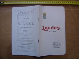 1914 Dépliant Guide Brochure Touristique LOCHES ET LA REGION Syndicat Initiative - Dépliants Touristiques