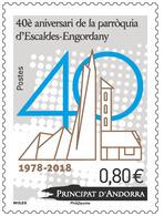 Andorra / Andorre - Postfris / MNH - 40 Jaar Kerken 2018 - Frans-Andorra