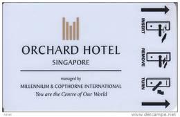 Orchard Hotel Singapore Keycard - Hotelkarten
