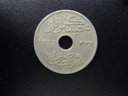 EGYPTE : 10 MILLIÈMES   1917 H - 1335   KM 316    TTB - Egypt