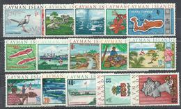CAIMAN   YVERT  264/78   MH  * - Caimán (Islas)