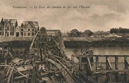 CPA - Belgique - Dendermonde - Termonde - Le Pont Du Chemin De Fer Sur L'Escaut - Dendermonde