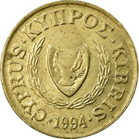Monnaie, Chypre, 5 Cents, 1994, TTB, Nickel-brass, KM:55.3 - Chypre