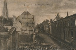 CPA - Belgique - Dendermonde - Termonde - Rue De L'Eglise - Hôpital - Dendermonde