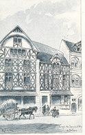HISTOIRE --- Jeanne D Arc A Domremy, 12 Cartes Postales Daprès Les Lavis Originaux De A ROBIDA / SERIE A - Histoire
