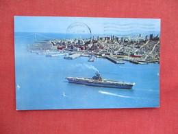 Air Craft Carrier  San Francisco Ca    Ref 3244 - Oorlog