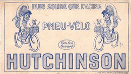 1 Buvard Blotter Vloeipapier Bicycle Fietsen Fahrrad   Vélo Pneu Hutchinson Illustrateur MICH - 1900 – 1949