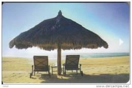 Sheraton Hotel Keycard Umbrella Beach - Hotelkarten