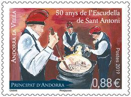 Andorra / Andorre - Postfris / MNH - 50 Jaar Feest Van Sant Antoni 2019 - Frans-Andorra