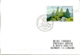 """BRD FDC: """"Nationalpark Hochharz"""", Mi.2268 Aus Block 59 ESSt 4.7.2002 BERLIN ZENTRUM - [7] République Fédérale"""