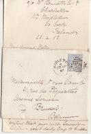 1882 Letter With Text 21/2p  Planche 22 Fron Midleton To Bruxelles  Belgique - 1840-1901 (Victoria)