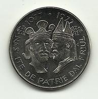 Italia - Medaglia Commemorativa Del 900° Del Friuli - Altri