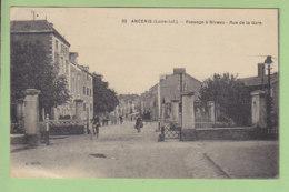 ANCENIS : Passage à Niveau, Rue De La Gare. 2 Scans. Edition Chapeau - Ancenis