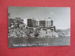 RPPC  Hotel Caleta  Acapulco  Small Crease  Mexico        Ref 3244 - Mexico