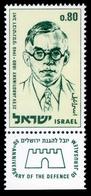 """1970Israel465' Ze'ev Jabotinsky 1880-1940""""0,60 € - Nuevos (con Tab)"""